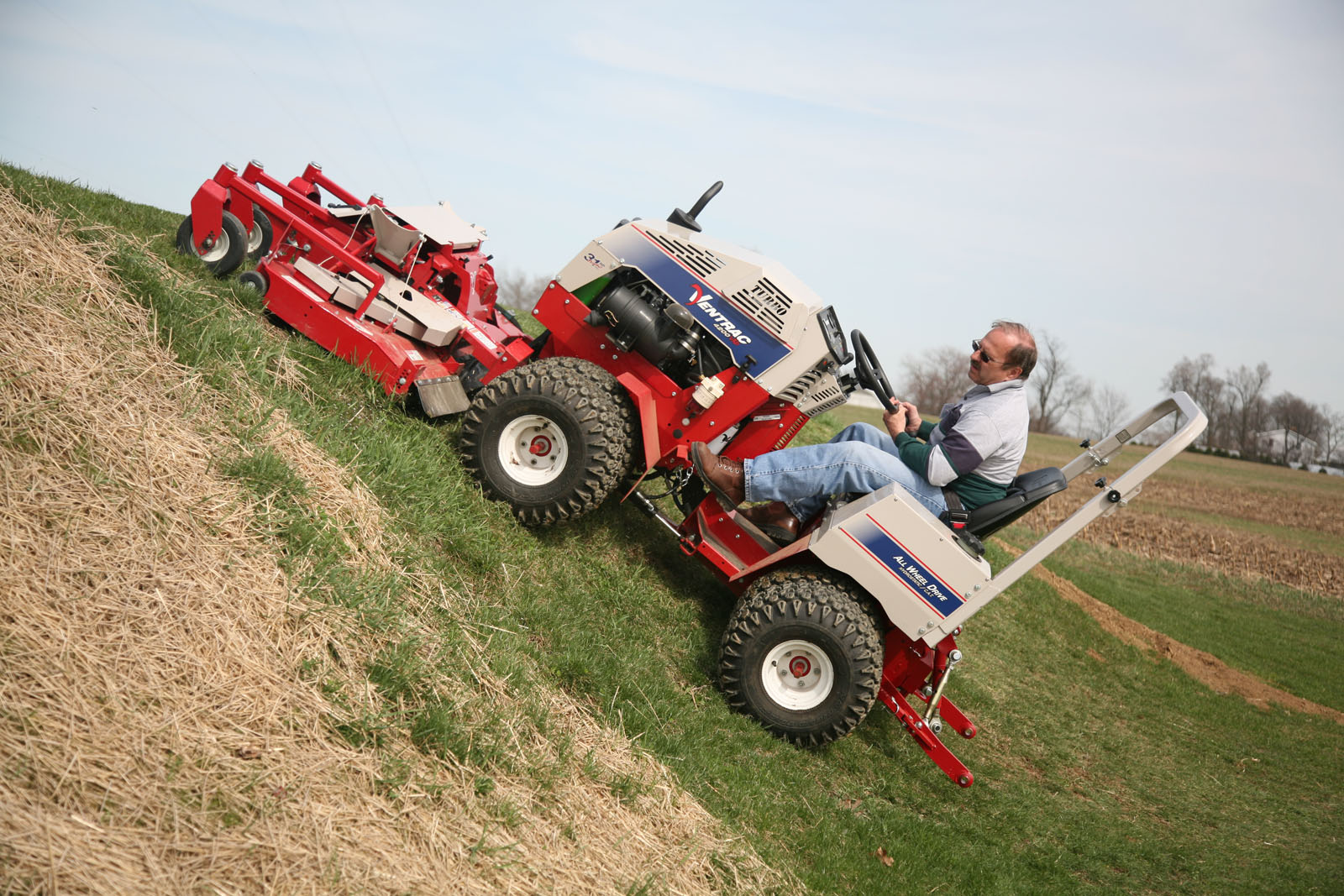 Mowing Down A 60 Degree Slope Page 4 Lawnsite